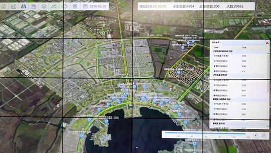 上海临港构建虚拟城市:可无限次复盘的仿真系统