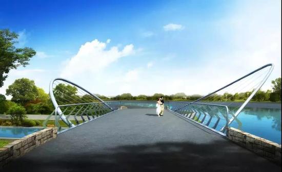 视频:长宁再建三座景观桥 计划2018年建成