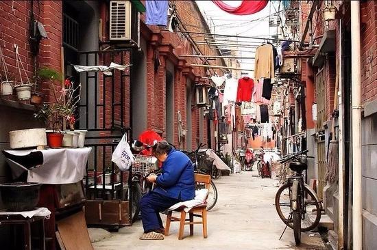 上海弄堂一景
