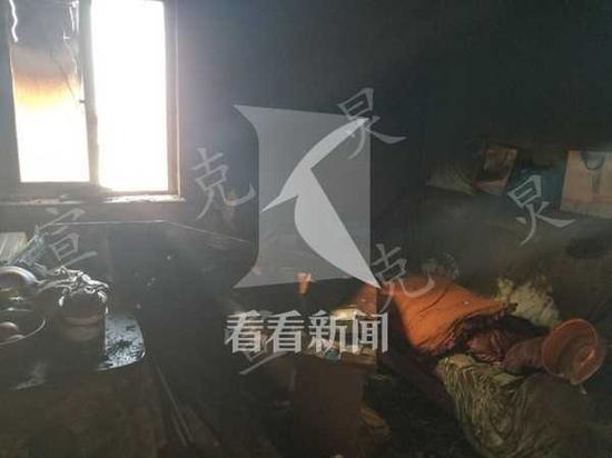 虹口一民宅发生火灾88岁老伯不幸丧生 或因使用电热毯