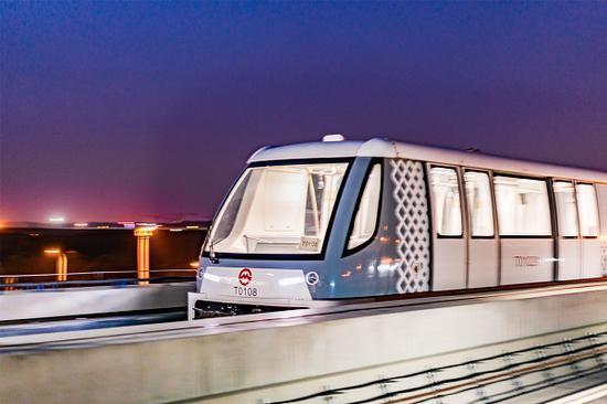图说:浦江线将于本周六起通车试运营 来源/上海地铁供图(下同)