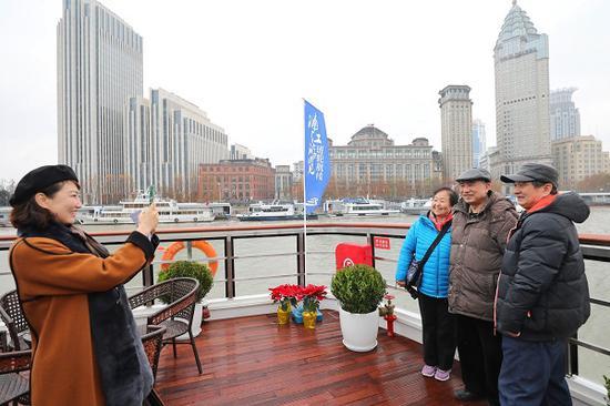 浦江游览试点船+景新套票 打造更丰富多元的观光体验