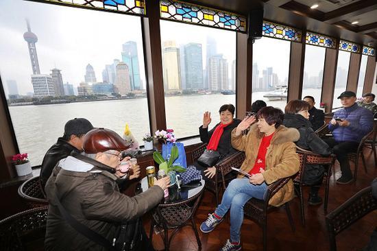 图说:2019年浦江游览接待中外游客数超过500万人次