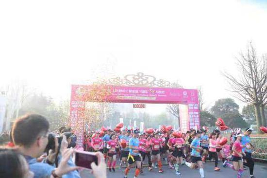 上海静安女子半程马拉松本周日举行