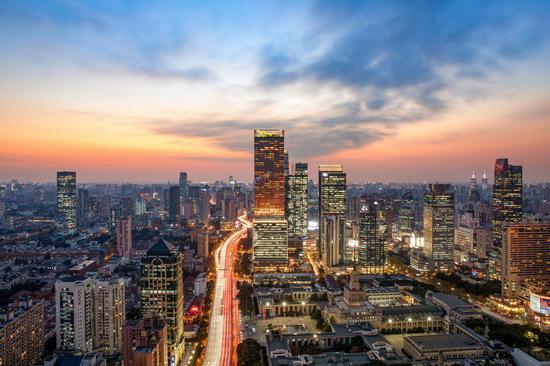 静安香格里拉外观图 Jing An Shangri-La, West Shanghai - Exterior