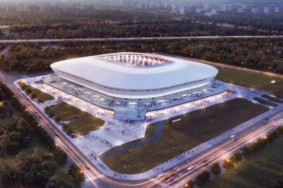 浦东足球场项目正式复工 计划今年底基本竣工