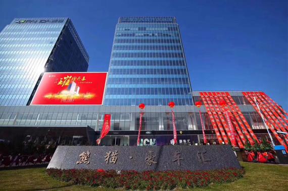 上海豪车汇汽车服务有限公司是由上海熊猫集团股份有限公司(简称:熊猫集团)100%控股