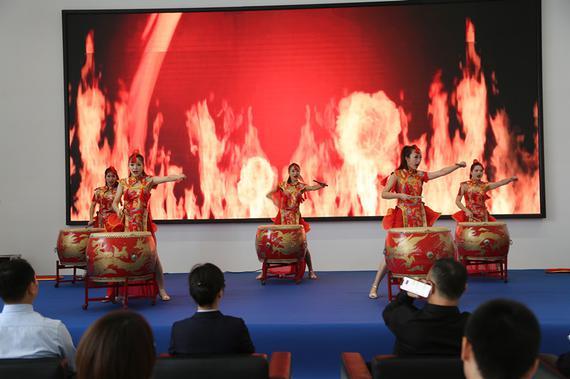 上海吉利吉瑞4S店 开业盛典圆满成功