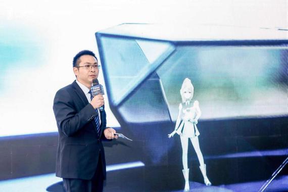 朱高峰先生在介绍奔腾E01的亮点