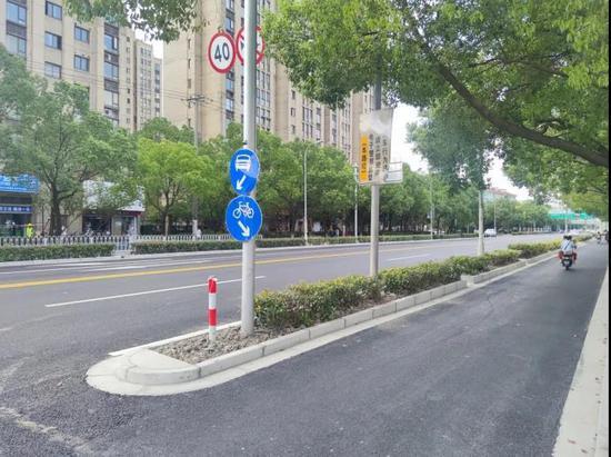 闵行4条道路大中修陆续完工 道路性能和颜值双双提升