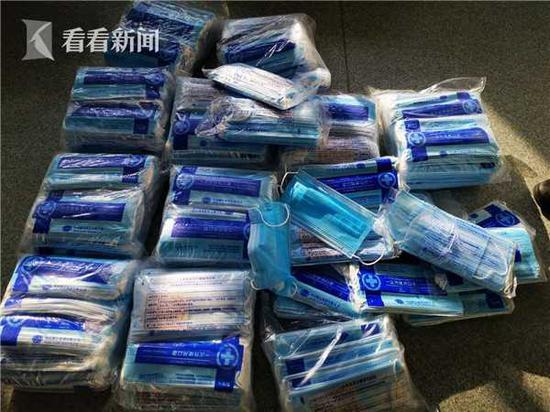 上海一药店以3倍进价对外发卖劣质口罩 老板被刑拘