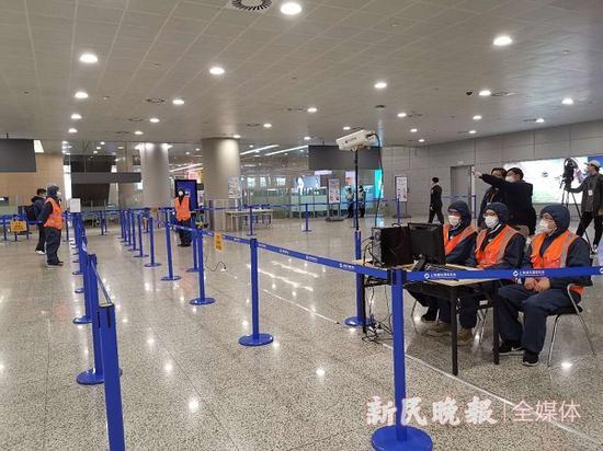 浦东机场安检一检一消毒 航站楼空调开启全新风模式