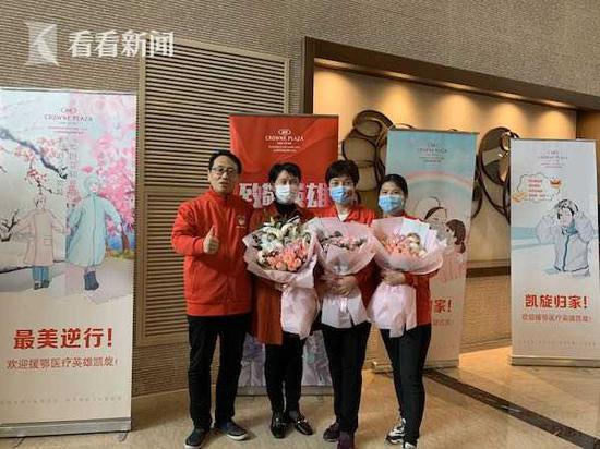 上海援鄂医疗队员:再一次机会 我还会选择去武汉支援