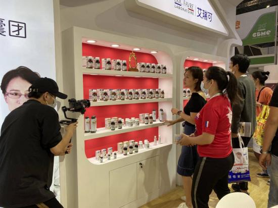 君美瑞携四大海外明星品牌亮相上海CBME