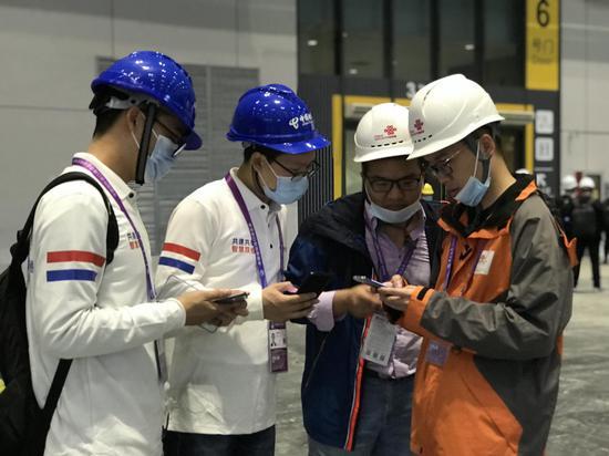 """第三届进博会采用""""电联5G互备份""""最高实际下载速率超过2.3G"""
