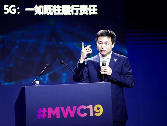 5G为智慧社会赋能——中国电165号段靓号能买不信董事长柯瑞文在MWC19上的演讲要点