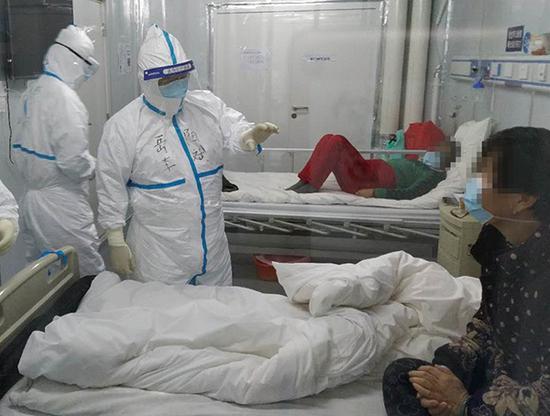 雷神山医院两大病区关闭 上海国家中医医疗队即将回家