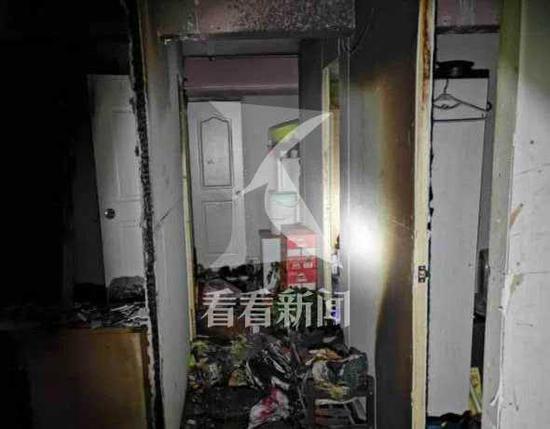 电瓶起火外卖员只顾自己跳楼逃生 另有11人还在睡梦中
