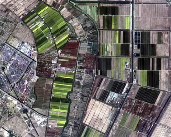 3月中旬高分卫星影像