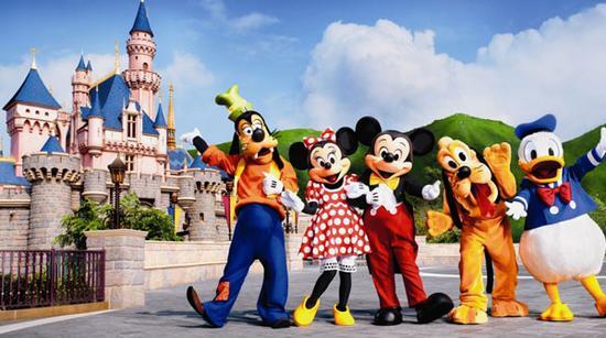 上海迪士尼乐园欢迎您的到来