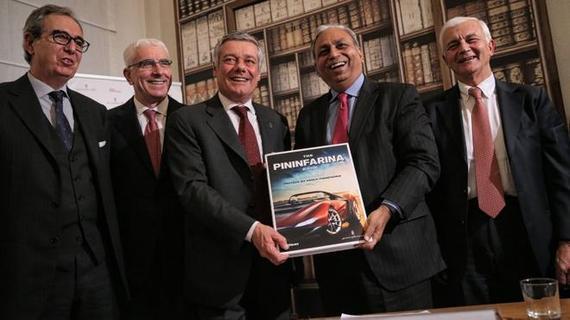 3月日内瓦发布 宾尼法利纳概念车预告图