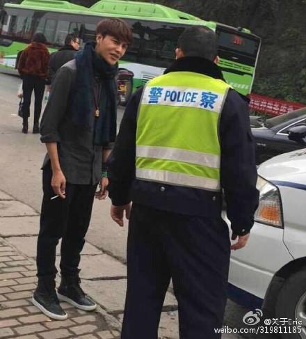 陈坤与交警