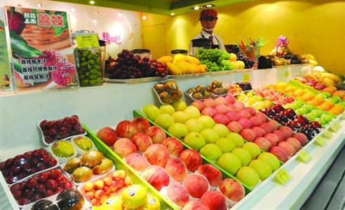 上海人吃蔬菜与水果量不够 每天最好摄入12种以上