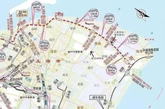 上海近期交通规划:东站纳入规划 或成浦东版虹桥枢纽