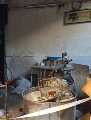 上海早餐店液化气深夜爆燃
