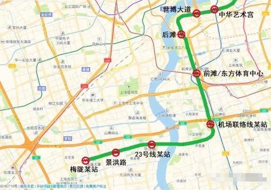 梅陇的小伙伴可放大地图,看看这些站点经过哪些路段,你们是不是又多