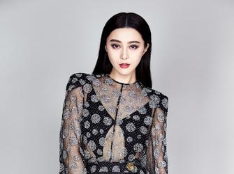 范冰冰着透视裙登时尚大刊