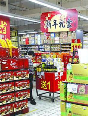 上海周末或迎春节采购高峰