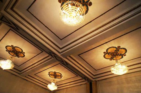 主宴客厅的天花板也十分惊艳 (摄影来自:RuRu)