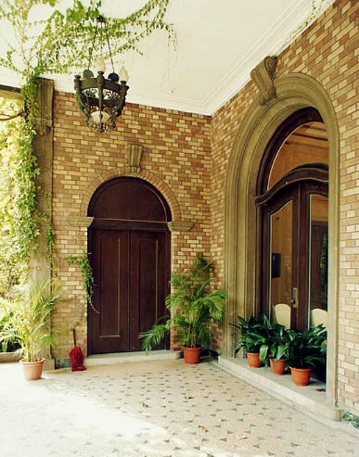 爱神花园正面门厅十分漂亮(图片摄影:RuRu)