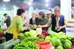上海部分绿叶菜价格便宜近一半 青菜一元一斤
