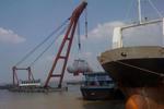 浦江上游浮吊设施将全面清退 曾导致沉船15艘