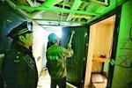 虹口一居民楼暗藏地下公寓 1000㎡地下室被隔成33间