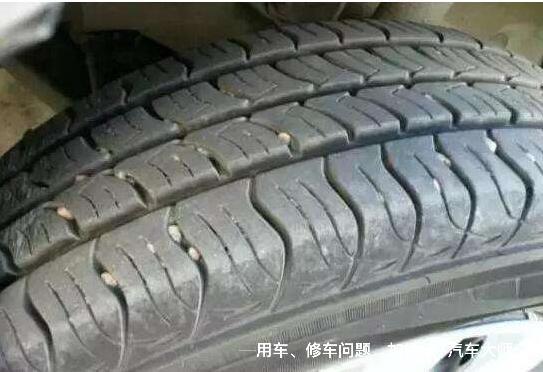 轮胎花纹可不是摆设 7个常见花纹小秘密