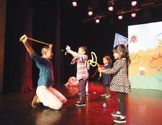 长宁区少年宫艺趣大课堂演绎精彩儿童剧