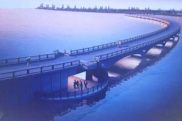 青浦淀山湖上拟建1.47公里彩虹长桥 预计9月完工