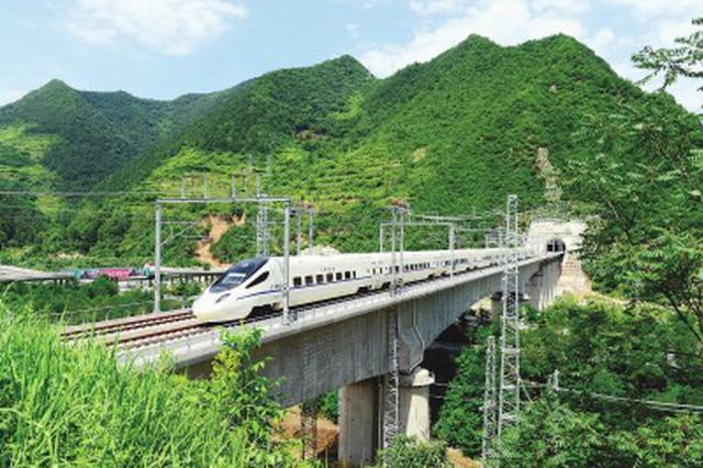 宝兰高铁正式开通运营 上海到兰州缩短至10小时38分