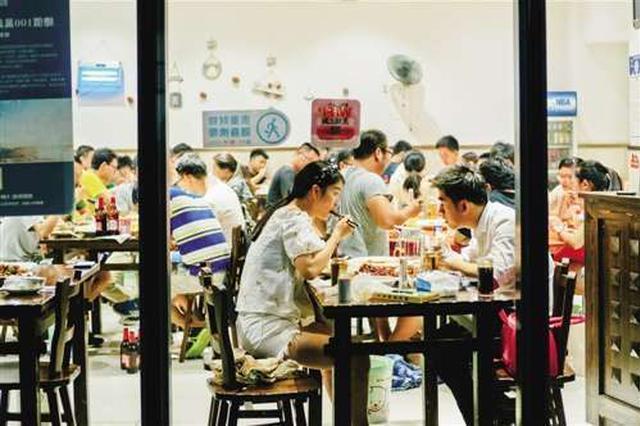 国内夜宵经济大比拼:上海位居全国第一