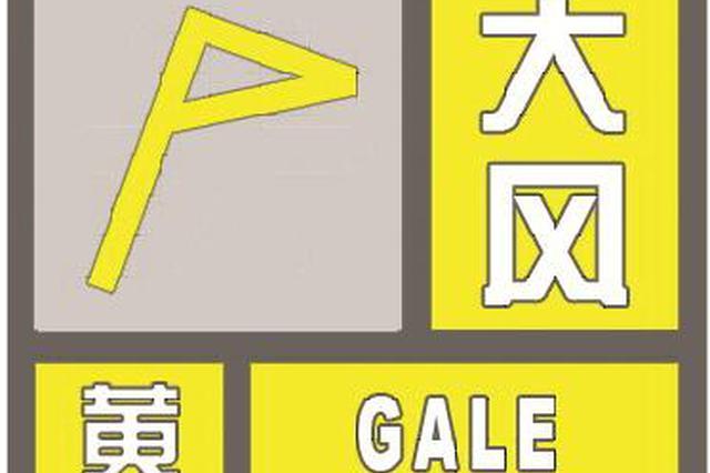 上海发布大风黄色预警信号 将出现7-9级雷雨大风