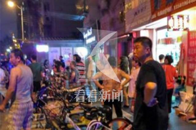 上海一美甲店内发生刑案 男子进店内将前妻捅伤致死