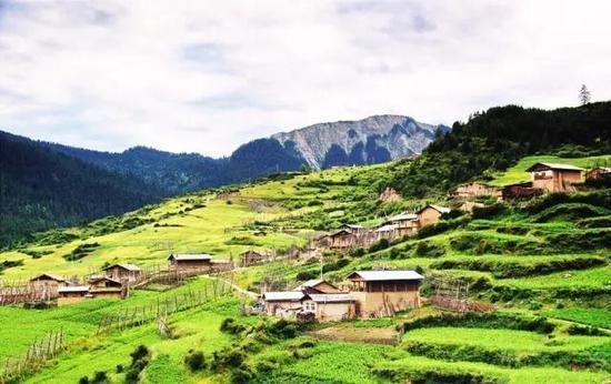 甘南·扎尕那村