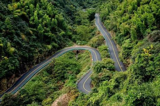 杭州余杭·径山盘山公路