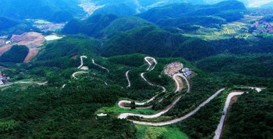 台州仙居·景星岩盘山公路