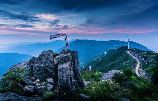 台州临海·括苍山盘山公路