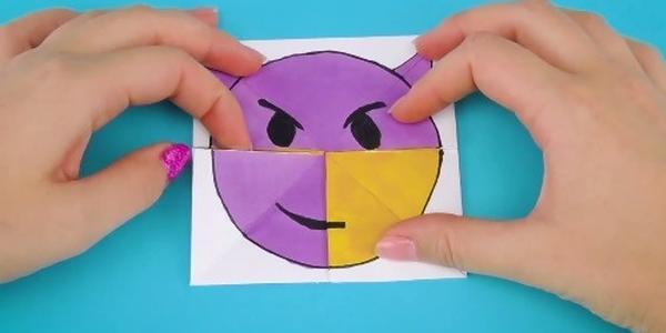 Emoji表情变脸卡片Emoji表情变脸表情.来屎笔卡片包图片