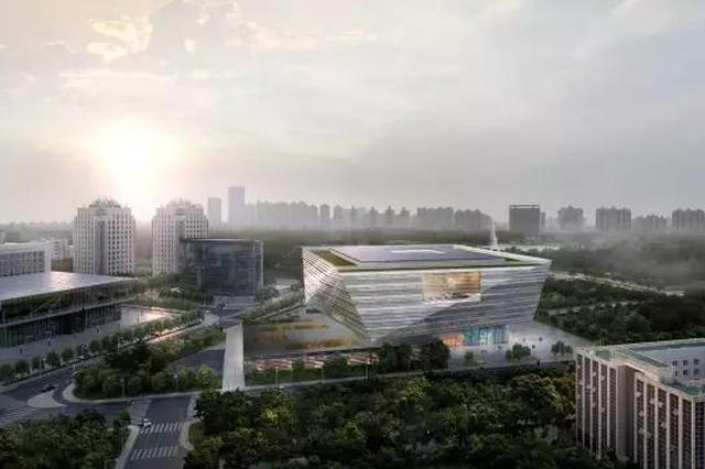 上海图书馆东馆27日开工 效果图抢先看